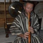Denis à la flute